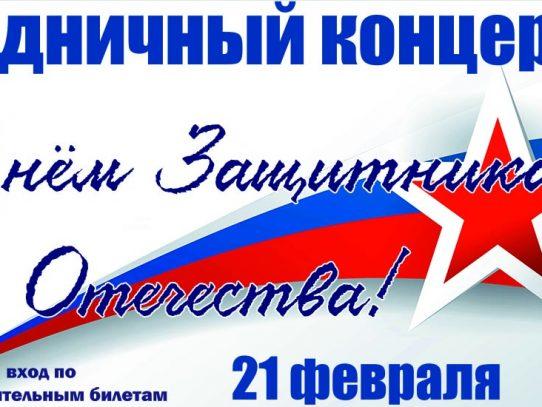"""""""ВАМ - СЛАВЫ ГЕРОИЧЕСКОЙ СЫНЫ!"""" праздничный концерт"""