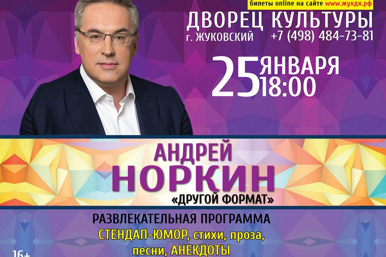 25 января, Андрей Норкин, развлекательная программа «Другой формат».